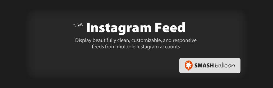 The Instagram Feed WordPress Plugin
