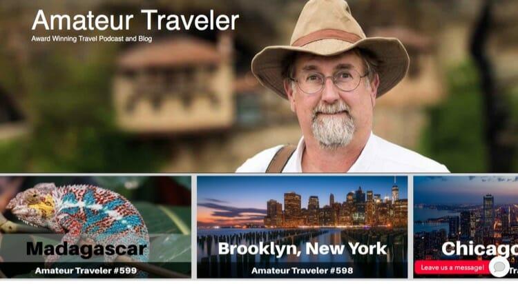 Amateur Traveler Travel Blog & Podcast