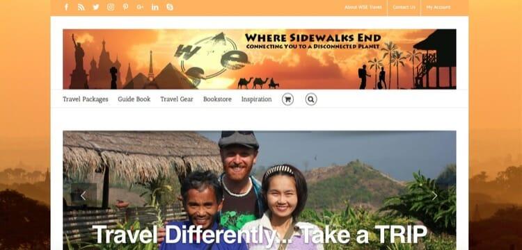 Best Travel Blogs - Where Sidewalks End
