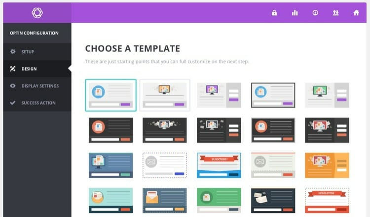 Bloom Design Templates for Email Marketing