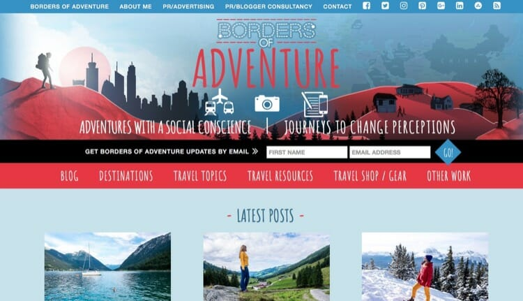Borders of Adventure Travel Blog