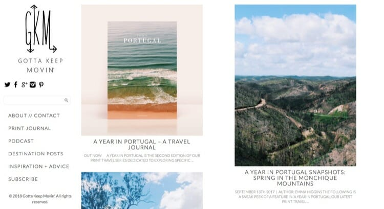 Gotta Keep Movin' Travel Blog